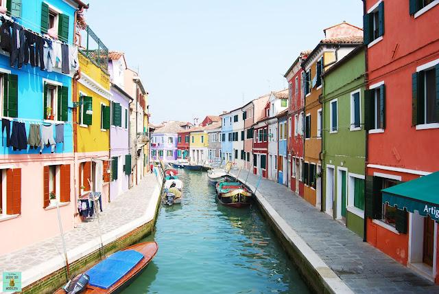 Isla de Burano, Venecia