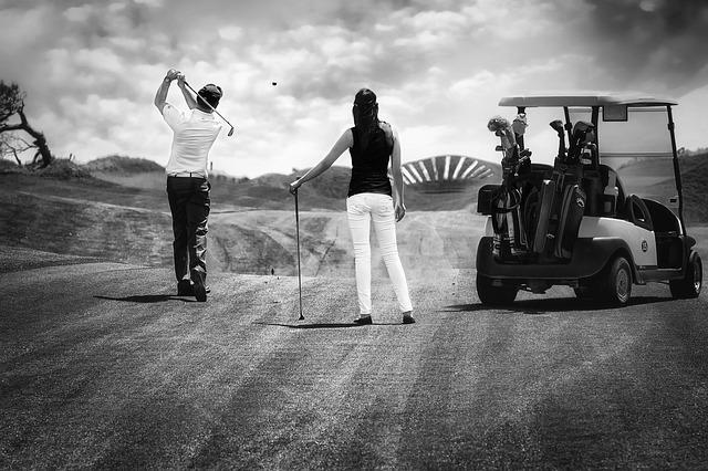 Match Golf Cart