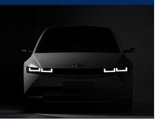 Hyundai Ioniq 5 Electric Crossover, the first model in the EV-Dedicated brand's IONIQ lineup