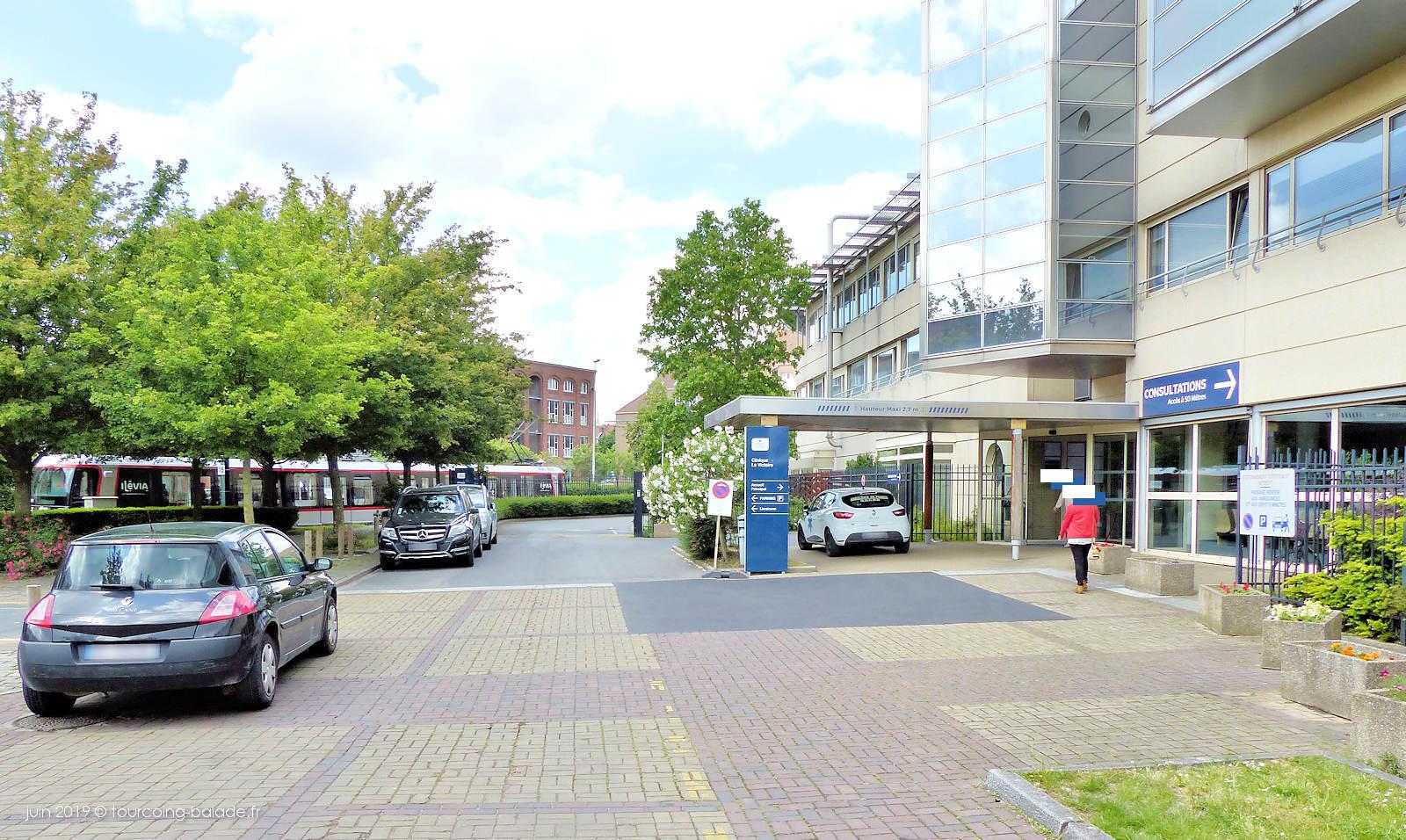 Tramway ligne T - Clinique de la Victoire, Tourcoing