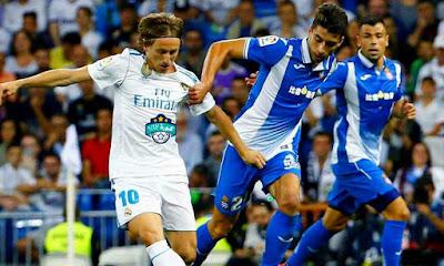 مباراة ريال مدريد واسبانيول كأس السوبر الاسباني
