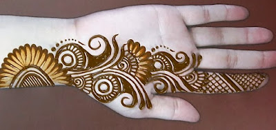 100+ Simple and Easy Mehndi Designs for Front Hand Beginners 2020.