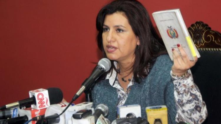 Delgado encabezaba las encuestas de intención de voto en 2015 en Cochabamba /  WEB