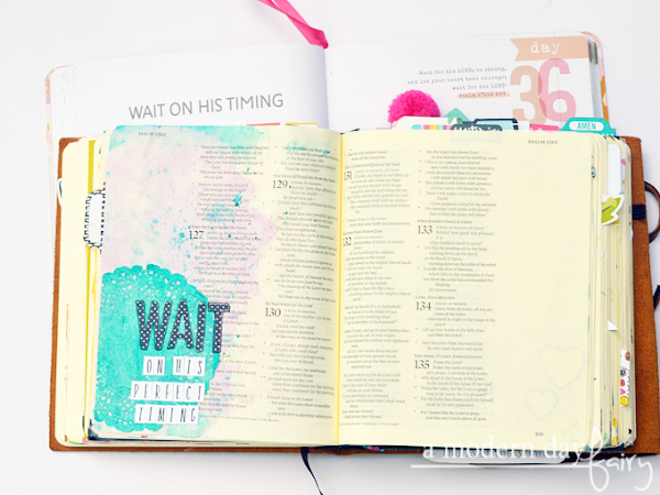 100 Days of Bible Journaling: Days 36-42