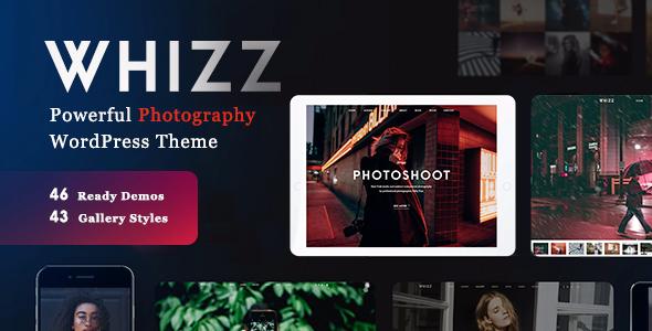 Whiz v2.0.0 - Chủ đề Nhiếp ảnh tuyệt đẹp