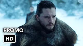 Game of Thrones: HBO divulgou oficialmente novos vídeos promocionais