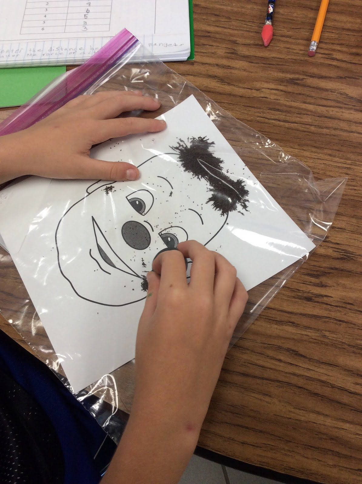 Wooly Willy Magnet Activity
