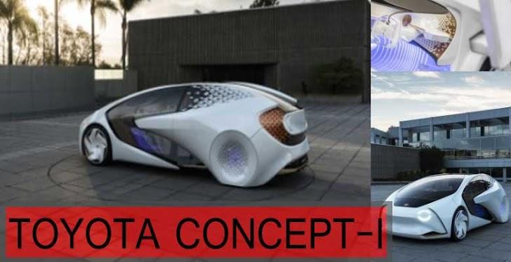 Toyota Concept-i Mobil yang Mampu Memetakan Emosi