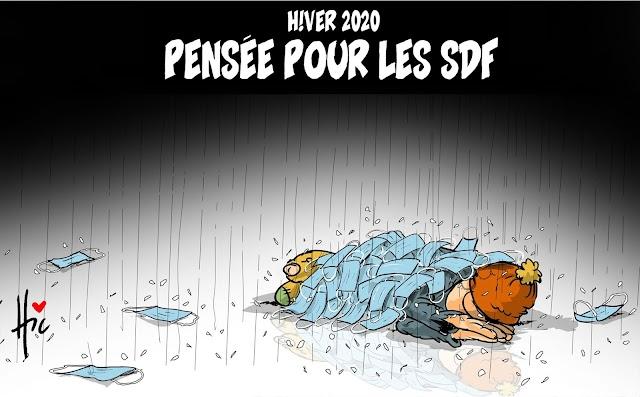 Hiver 2020 - Pensée pour les SDF