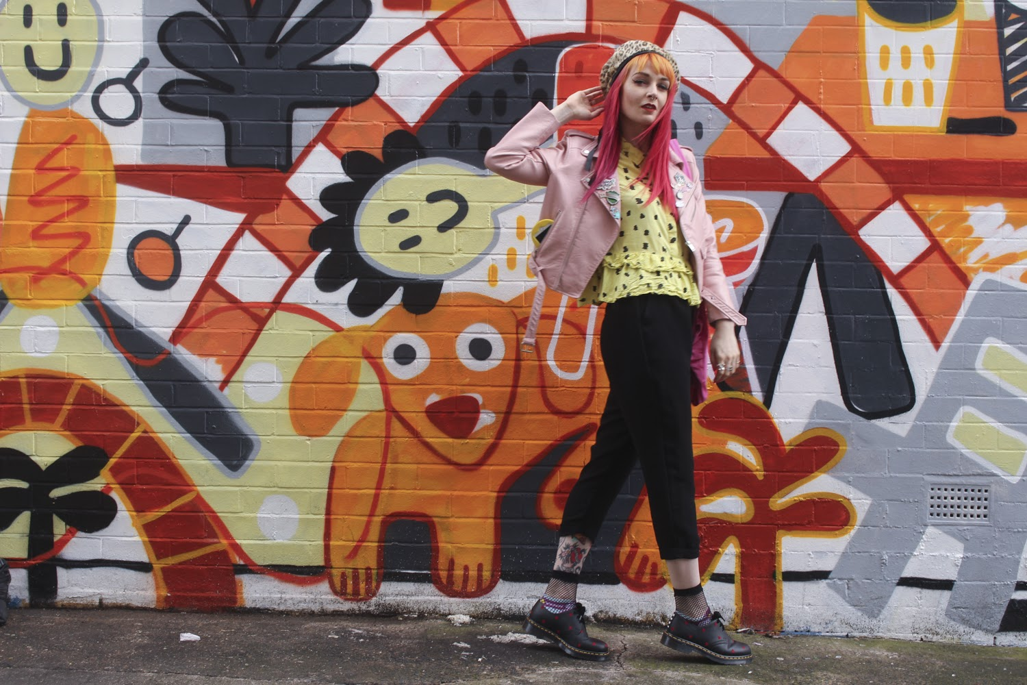 Alternative Style Blogger Foxxtailz in Lazy Oaf