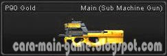Senjata Point Blank P90 Gold