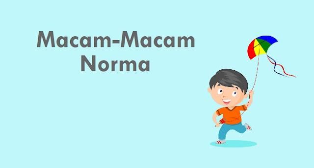 Jelaskan Macam-Macam Norma
