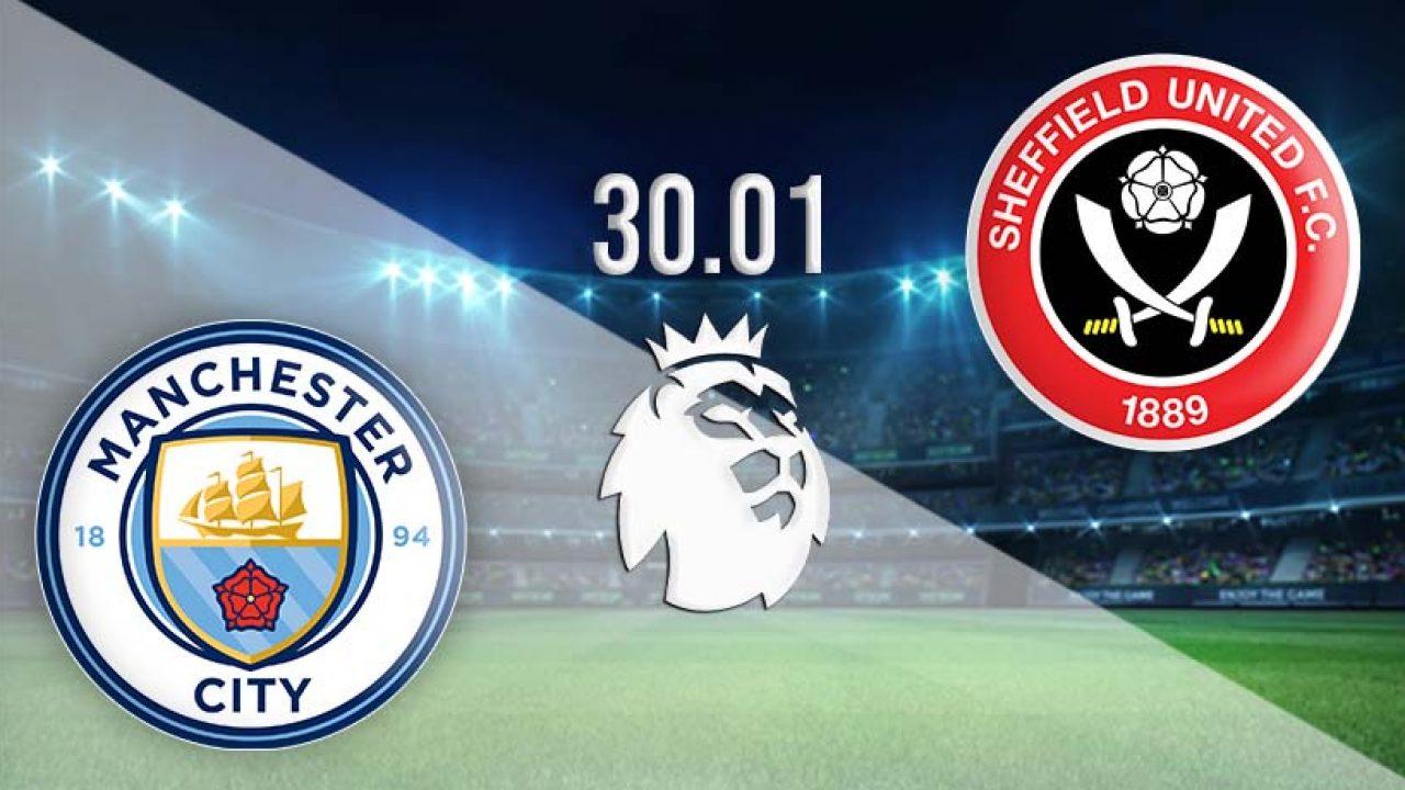 بث مباشر مباراة مانشستر سيتي وشيفيلد يونايتد