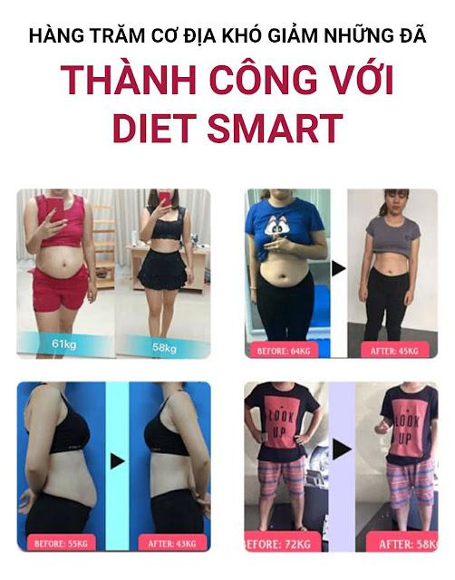 Giảm cân ngay với viên uống Diet Smart