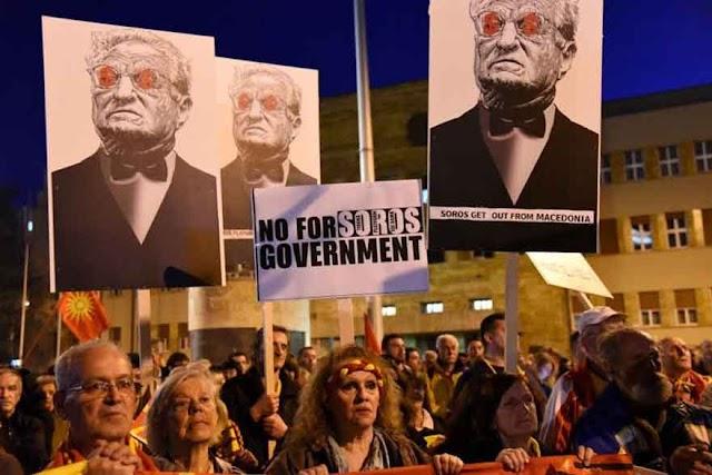 Deutschland Kurier: Wie Soros Mazedonien destabilisierte
