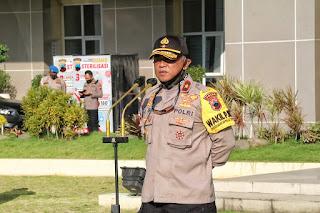 Polda Jateng Terhitung Hari ini Laksanakan Operasi Yustisi guna Memutus Mata Rantai Penyebaran COVID-19