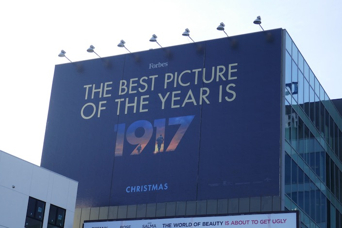 best picture of year 1917 billboard