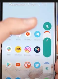 واجهة المستخدم -التحكم بالصوت - اندرويد 12 android
