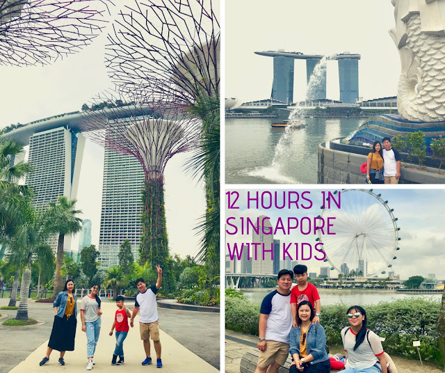 12-Hour Layover in Singapore l Sightseeing with Kids