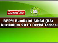 Format RPPM RA Pembelajaran Daring Kurikulum 2013 Terbaru