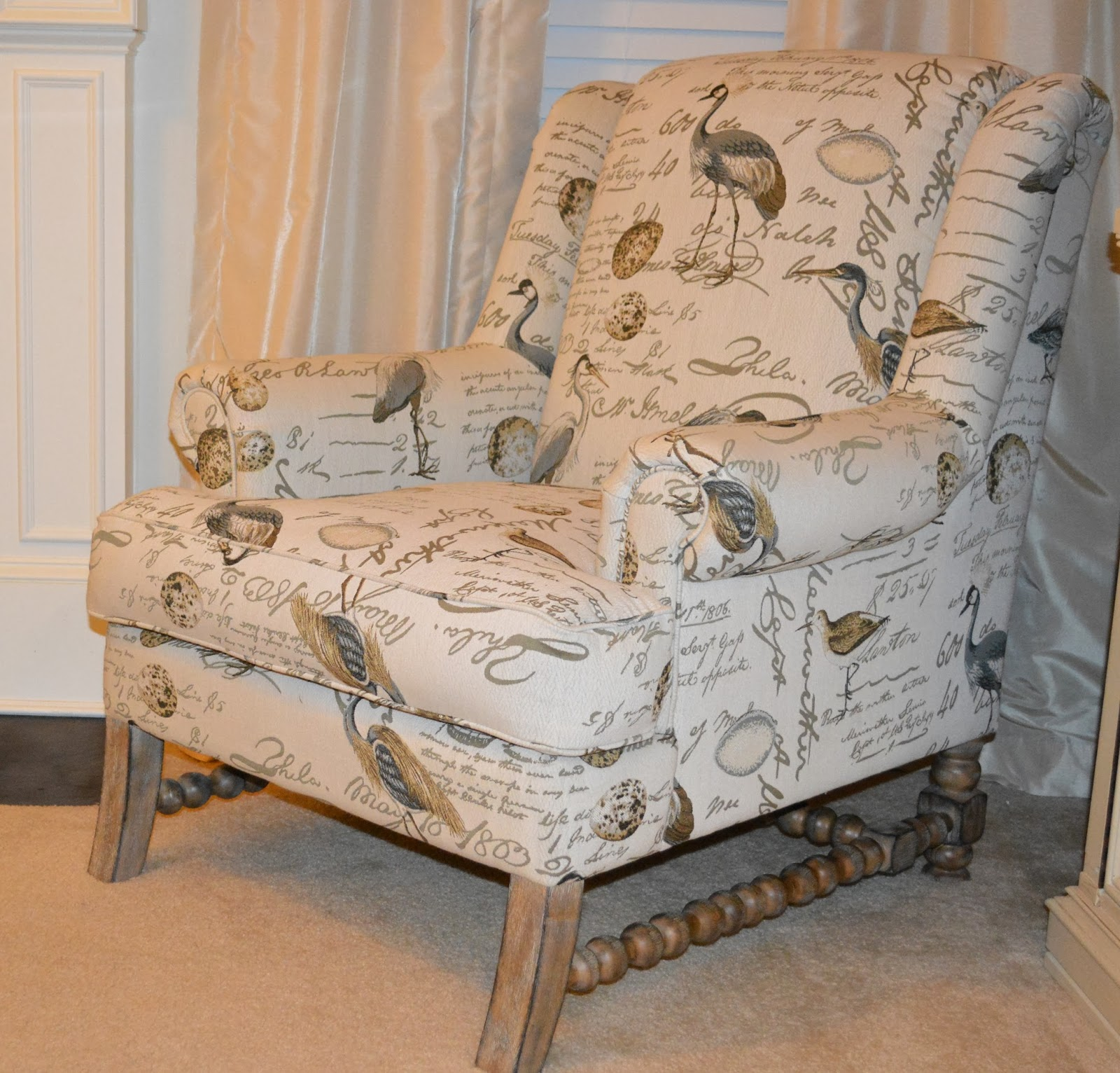 Bird Pring Accent Chair: Southern Grace: Statement Chairs With One Kings Lane