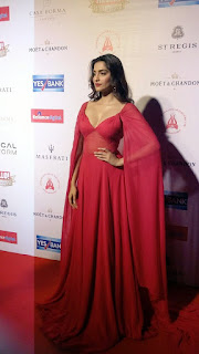 Sonam Kapoor at Hello hall of fame awards 2016