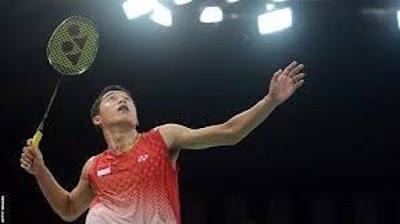 forehand stroke badminton