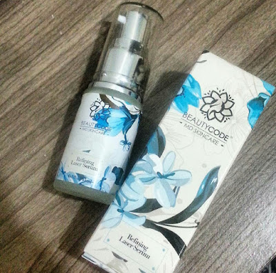 Hilangkan parut jerawat dengan Refining Laser Serum dari Beautycode MD