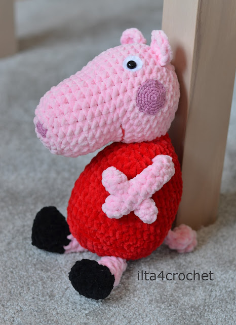 crochet pattern Peppa Pig