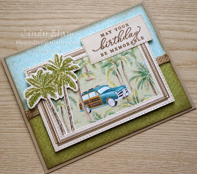 Heart's Delight Cards, Tropical Oasis, Timeless Tropical, Masculine birthday, 2020 Jan-June Mini Catalog, Sneak Peek, Stampin' Up!