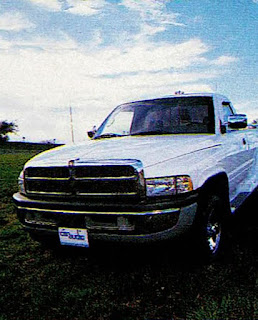 image in color of the exterior of Matt Billmeier's 1995 Dodge Ram truck