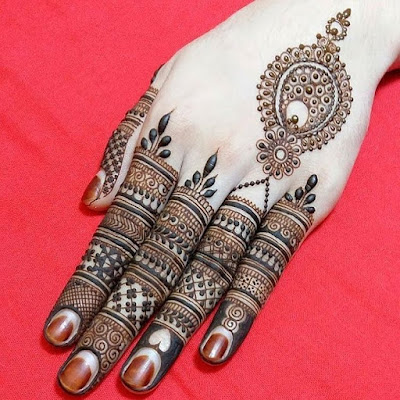 New and Latest Mehndi Design Simple and Easy Collection