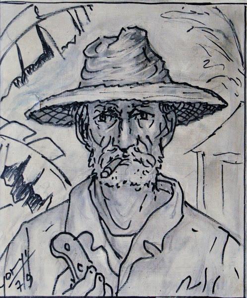 Retrato sin titulo, 1979