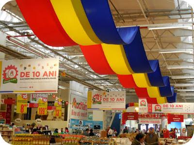 Aniversare Auchan 10 ani in Romania