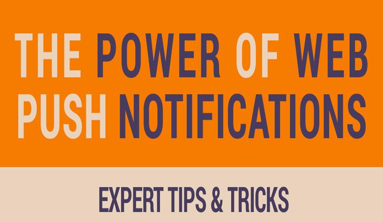 The Power Of Push Notifications For Small Businesses #infographic
