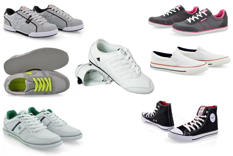 Retromoderna: Sportowe buty do eleganckiego stroju, sukienki