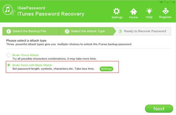 iSeePassword iTunes Passsword Recovery Tool 4