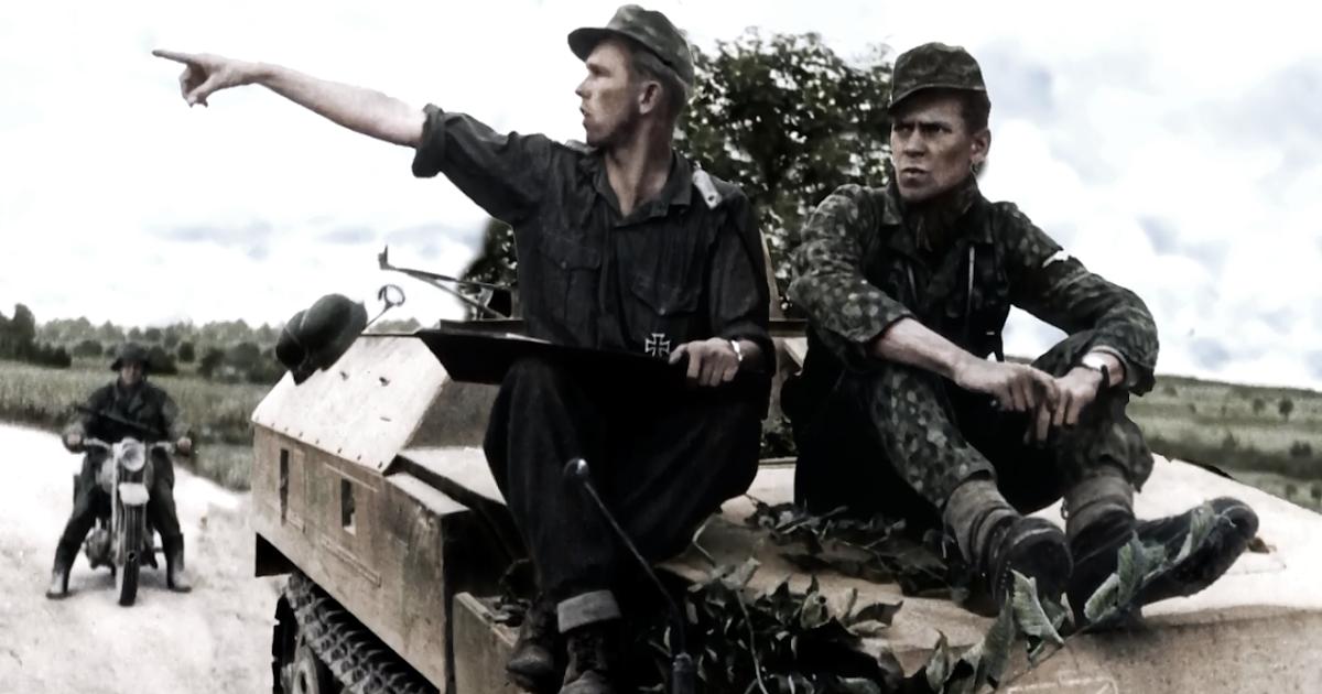 """Stabswache de Euros: ϟϟ-Freiwilligen-Legion """"Norwegen"""