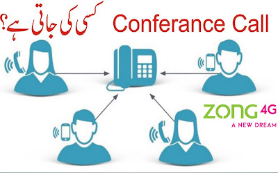 Zong conference call - how to activate conference call on zong