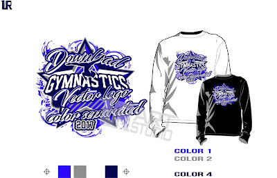 Graphic designs illustrations logo designs and vector Gymnastics t shirt designs