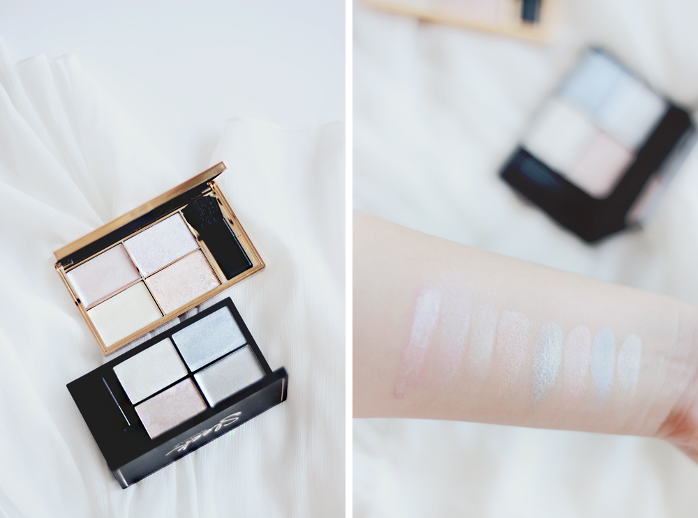 Sleek Makeup Solstice Midas Touch Highlighting palettes swatches Beauty Blog Review