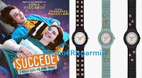 Logo Concorso ''Dreams happen'': vinci gratis orologi Hip Hop e un carnet di buoni cinema per un anno