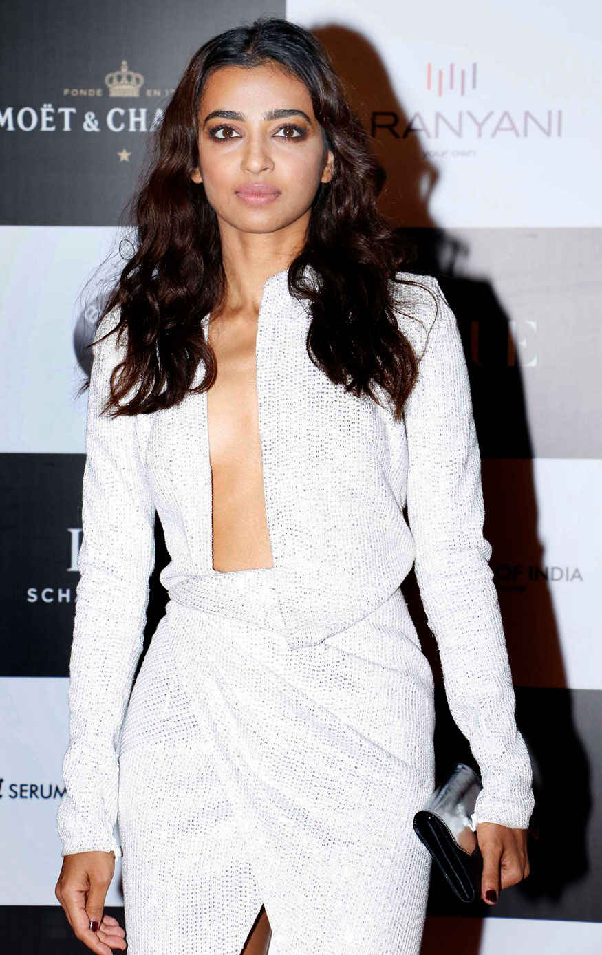 Radhika Apte Attends The 'Vogue Women of the Year Awards 2017' at Grand Hyatt Hotel