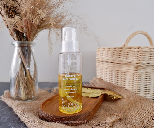 Review Indoganic Camellia Deep Cleansing Oil