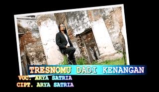 Lirik Lagu Tresnomu Dadi Kenangan - Arya Satria