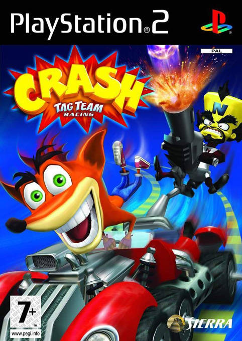 Crash Tag Team Racing PAL PS2