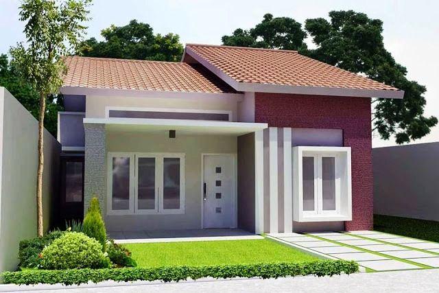 Desain Rumah Minimalis 1 Lantai Type 36 Tampak Depan