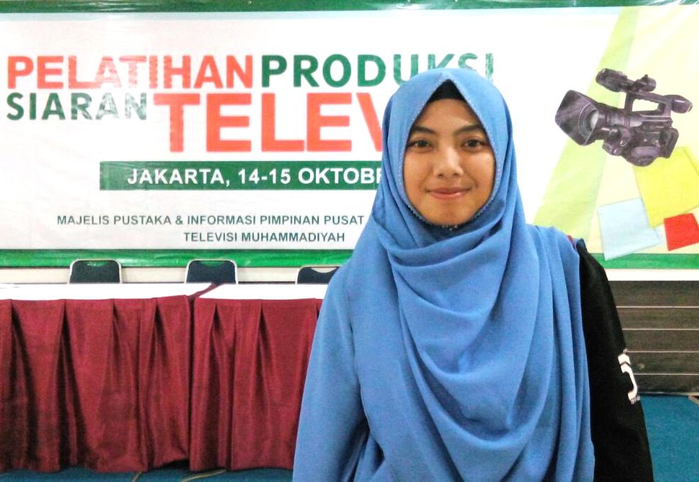 Farin dan Dimas wakili Unmuh dalam Pelatihan Produksi Siaran tvMu