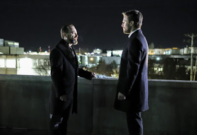 Arrow 5x18 Disbanded Oliver Queen Anatoly promo pic