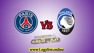 مشاهدة مباراة باريس سان جيرمان وأتلانتا بث مباشر اليوم الاربعاء بتاريخ 12-08-2020 في دوري أبطال أوروبا